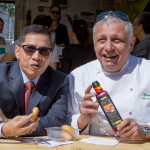 Malaysian Ambassador Samples Palm Oil Food Truck in Paris