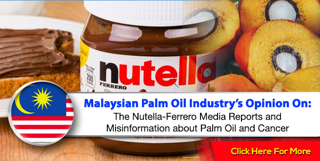 Malaysian Palm Oil Industry: Our Stand On The Nutella ...